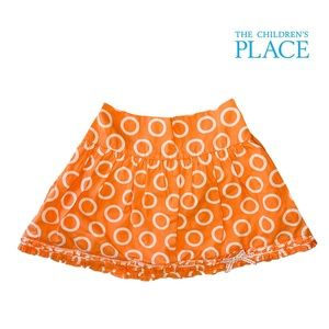 The Children's Place Orange Skort 4T